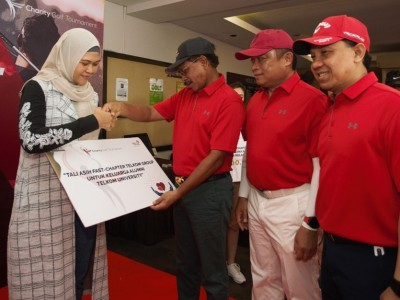 FAST Chapter TelkomGroup Gelar Charity Golf Tournament 2019