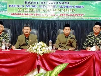 Ratusan Kepala Madrasah NU di Gresik Bertekad Tingkatkan Mutu