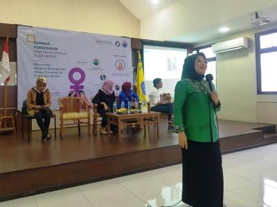Di Acara KOPRI PMII, Mpok Silvi Bicara Kreativitas dan Inovasi Perempuan