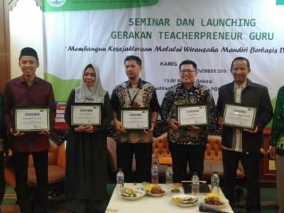 Ajak Guru Berwirausaha, Pergunu Luncurkan Teacherpreneur