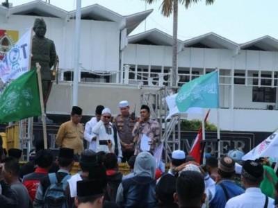 Cucu KH Ahmad Siddiq Pimpin Demo Tolak Radikalisme