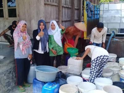 Suplai Air Bersih, Fatayat Boyolali Bantu Daerah Terdampak Kekeringan