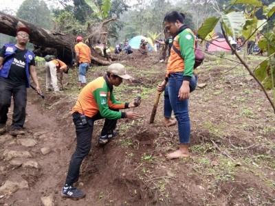 LPBINU Mojokerto Tanam 2000 Pohon untuk Jaga Sumber Mata Air