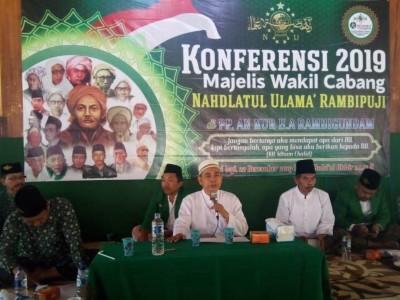 Terpilih Lagi, Ketua MWCNU Rambipuji Bidik Pemberdayaan Warga