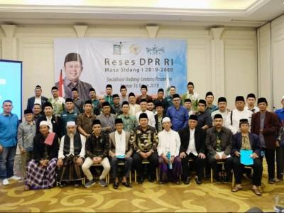 DPR RI Sosialisasikan Undang-undang Pesantren ke Ulama Bandung Barat