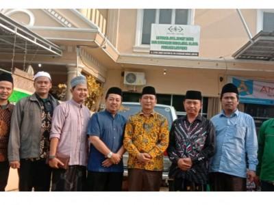 Kunjungi LAZISNU, Pegiat Ekonomi Pesantren di Lampung Bentuk Hebistren