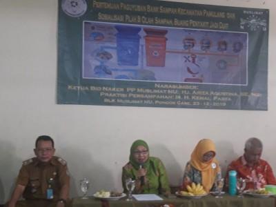 Muslimat NU: Manajemen Sampah Bisa Dimulai dari Rumah