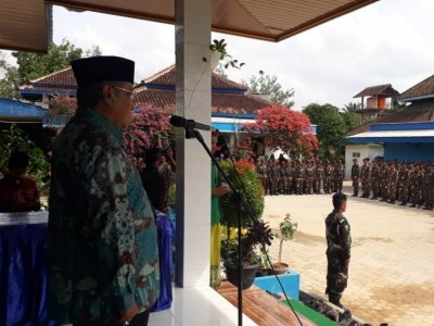 Lima Pesan Kiai Said kepada Banser saat Apel Pra-Muktamar di Lampung