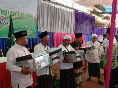 LAZISNU Pringsewu Serahkan Laptop dan Printer untuk Pengurus Empat Kecamatan