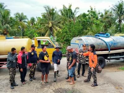 Warga di Bantul Kesulitan Air, Banser Tanggap Bencana Kirim Bantuan