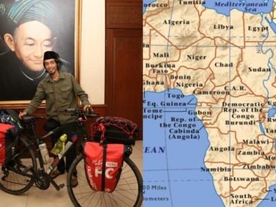 Kaleidoskop 2019: Warga NU Jelajahi Afrika dengan Sepeda