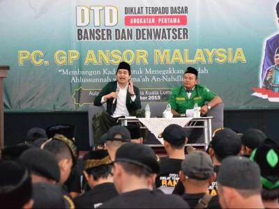 Ratusan Kader Ansor Malaysia Digembleng Diklat Terpadu Dasar
