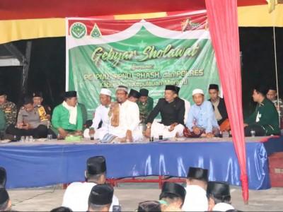 Pelajar NU Riau Warnai Pergantian Tahun dengan Shalawat
