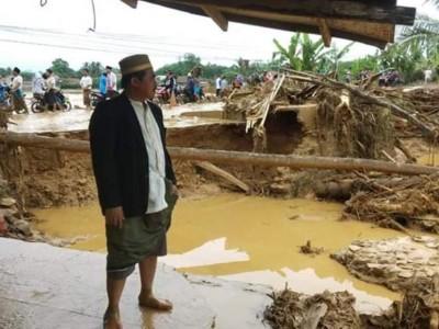 Banjir Bandang, 96 Pesantren-Majelis Taklim di Lebak Rusak Berat