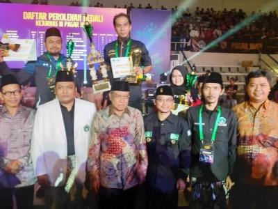 Pagar Nusa Jatim Sabet Juara Umum 1 di Kejurnas III