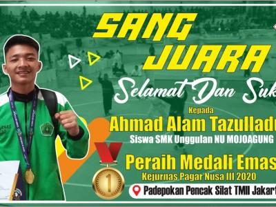 Perjuangan Ahmad Alam Raih Juara di Kejurnas Pagar Nusa