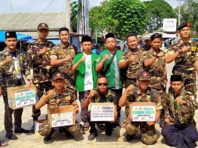 Ansor dan Banser di Lampung Timur Galang Dana Sejumlah Musibah