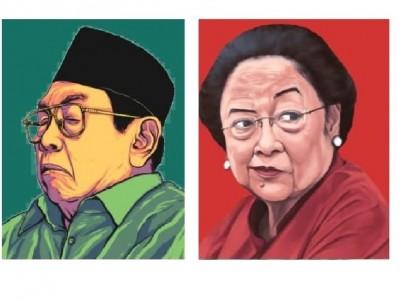 Gus Dur, Megawati, dan Jeratan Oligarki