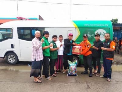NU Peduli Jateng Salurkan Bantuan Bagi Warga Korban Banjir Grobogan