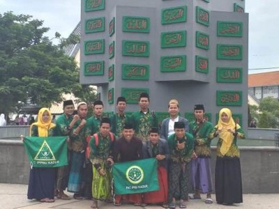 Tur Religi IPNU-IPPNU Kadur Kunjungi Makam Gus Dur