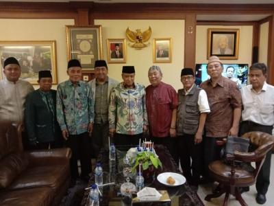 Jelang Pelantikan, PCNU Jakarta Pusat Sowan ke PBNU