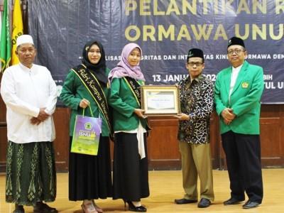 Jawara Duta ISNU Jatim Asal Sidoarjo mendapat Penghargaan