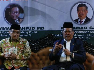 Menteri Pertahanan Malaysia-Ketua Umum PBNU Bincang Dunia Islam