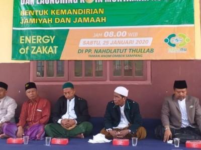 PCNU Sampang Adakan Turba dan Luncurkan Koin Muktamar