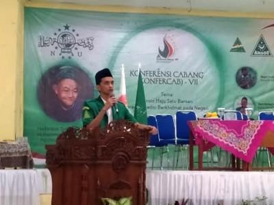 Cucu Pendiri Al-Masthuriyah Pimpin GP Ansor Kabupaten Sukabumi