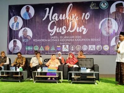 Layani Kemanusiaan, Pesantren Motivasi Indonesia Terinspirasi Gus Dur
