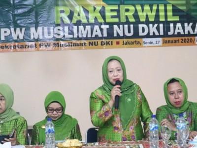 Muslimat NU Jakarta Bikin Terobosan Kemandirian Berorganisasi