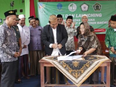 Pergunu dan Pesantren Rakyat Al-Amien Malang Buka Pokjar UT
