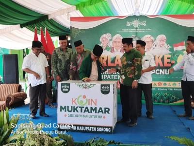 PCNU Sorong Galang Koin Muktamar di Harlah Ke-94 NU