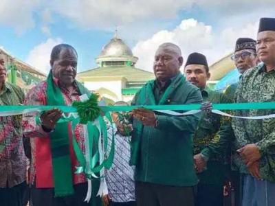Gubernur Papua Barat Resmikan Kantor NU Kabupaten Sorong