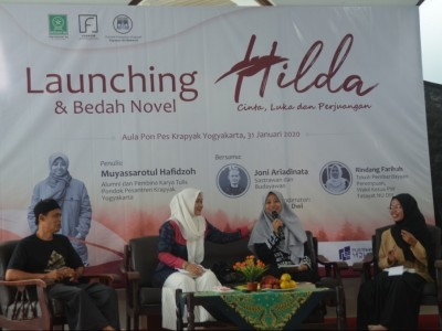 Aktivis Fatayat NU Jogja Luncurkan Novel Berjudul 'Hilda'