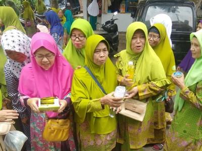 Pasarkan Produk, Ansor Ritel Kota Banjar Gandeng Muslimat NU