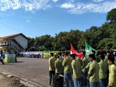 Pagi Ini, PCNU Bawean Lakukan Kirab Koin Muktamar NU di Pesantren Hasan Jufri