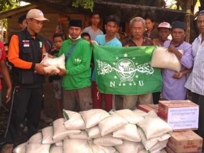 Bantuan 1 Miliar dari NU Tersalurkan di Tiga Provinsi Terdampak Banjir