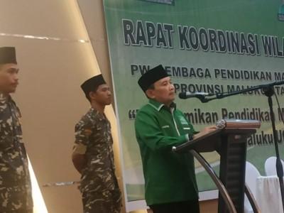 Rakerwil Ma'arif NU Maluku Utara Bahas 4 Agenda Besar