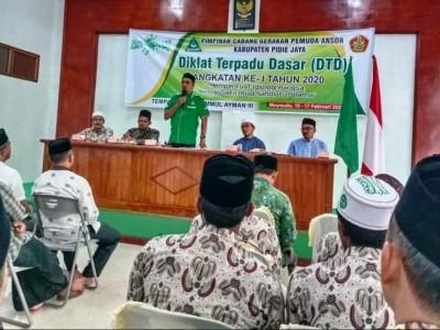 Ansor dan Banser Pidie Jaya Aceh Siapkan Diri Perkukuh Kebangsaan