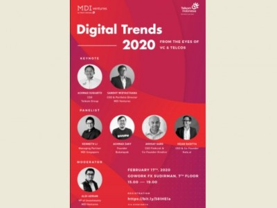 Bahas Perspektif Tren Pasar Digital, MDI Adakan Digital Trends 2020