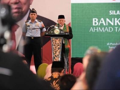 Wapres Resmikan BWM ATQIA Pesantren Al-Manshuriyah Lombok Tengah