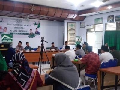 LAZISNU NTB Konsolidasi Gerakan Pengurus Se-Pulau Lombok