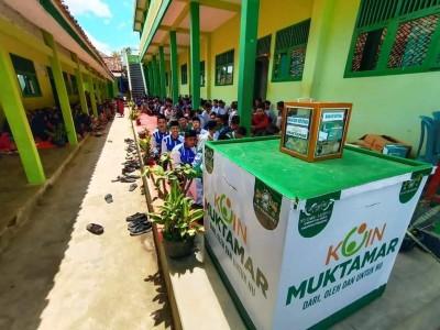 Ada Kotak Koin Muktamar Raksasa di Pringsewu Lampung