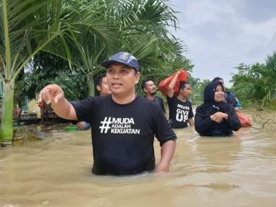 Sikapi Banjir, GP Ansor Pamekasan Serukan Gerakan Kesadaran #JagaSungai