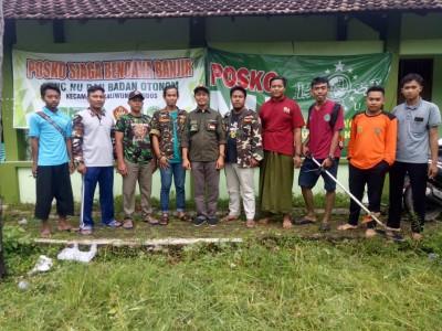 Banjir Terjang Sejumlah Desa, NU Kudus Dirikan Posko Bencana