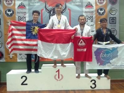Kader IPNU Ponorogo Wakili Indonesia di Ajang Jujitsu Internasional