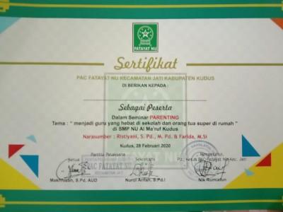Kiat Jadi Guru Hebat dan Ibu Super menurut Aktivis Fatayat NU Jati Kudus