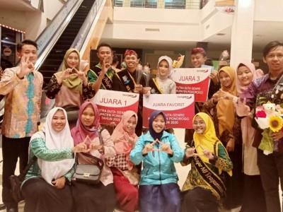 Kader IPNU Sukses Juarai Duta GenRe Ponorogo
