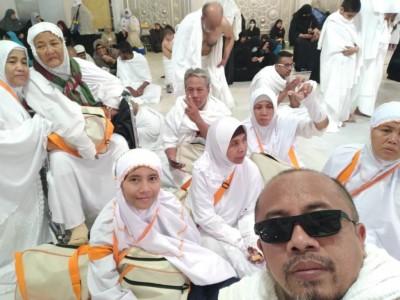 Perjalanan Umrah Alumni Sarang Sehari Sebelum Pelarangan Sementara